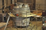 Производственная база КХМ-2. Изготовление сосуда из титана.