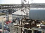 АО Фосагро-Череповец. Строительство цеха фтористого алюминия. Монтаж оборудования