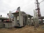 АО Фосагро-Череповец. Строительство цеха фтористого алюминия.