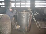 Производственная база. Изготовление конденсатоотводчика К-2000 (для ОАО «Северсталь. ЦУХП-1. Бензольное отделение)