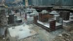 20161007 выполянются работы по монтажу фундаментов под здание газоочистки 2