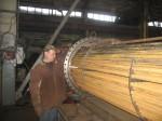 Производственная база. Изготовление трубного пучка