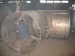 Производственная база. Изготовление патрубков бака нагрева