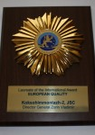 International Award European Quality.